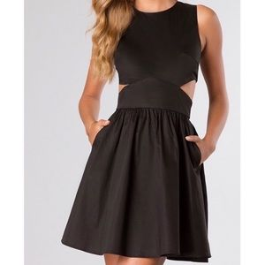 French Connection Superchick Cut-our Dress